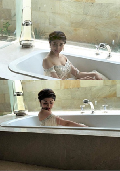 Tollywood Beauty In Tub