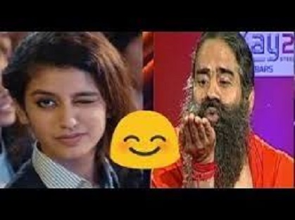 Priya Varrier VS Ramdev Baba Comedy