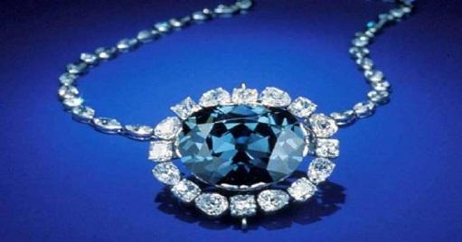 A rare blue diamond