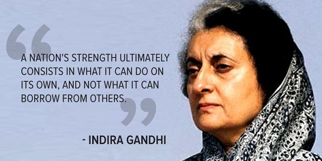 Indira Gandhi Ji