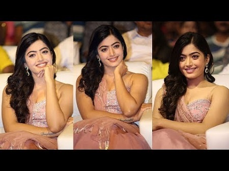 Raashi Miss.. Became Rashmika as Geetha